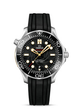 OMEGA Diver 300M Co-Axial Master Chronometer Men's Black Watch - 210.22.42.20.01.004
