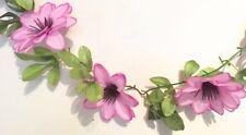 Dahliengirlande rosa  ca.190 cm  Dahlien Blüte ca. 12 cm Kunstblumen