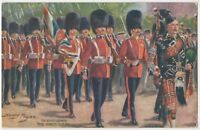 The Scots Guards, The King's Guard, Tuck 8825 Harry Payne Postcard B881
