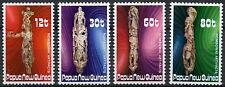 Papua New Guinea 1985 SG#512-5 Nowbowai Wood Carvings MNH Set #D23789