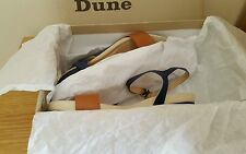 Genuine Dune Wedge sandals UK size 4 price reduced original price £69.00p