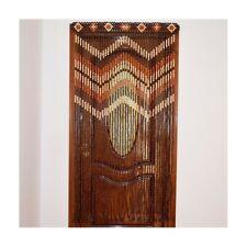 Doorway curtains wooden, Curtain door Beads, Wood handmade curtain, Bead curtain