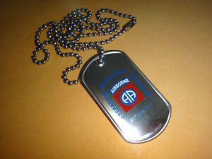 Opération Freedom 2001 États-Unis 82nd Airborne Division Chien Balise + Balle