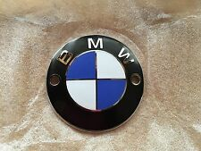 VINTAGE BMW 70MM TANK EMBLEM FITS R50/5, R60/5 AND R75/5 TANK  SCREW ON TYPE