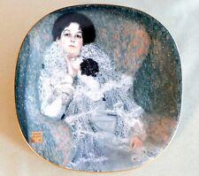 Porzellanteller Gustav Klimt, Lilienporzellan, 'Marie Henneberg', neuw.