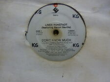 "LINDA RONSTADT ""Dont know much  /  Cry like a rainstorm "" 7""45rpm  Record"
