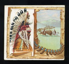 1888 N36 Allen & Ginter American Indian Chiefs - Man and Chief - Pawnee