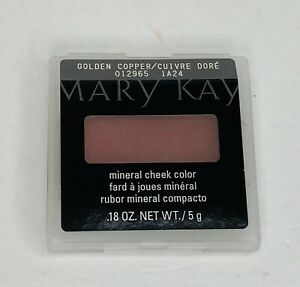Mary Kay Mineral Cheek Color Golden Copper NEW Discontinued Shade