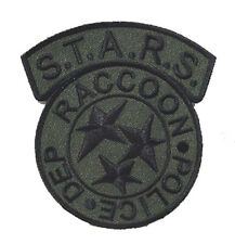 Resident Evil - Racoon Police Department Armee Grün- Patch - Uniform Aufnäher -