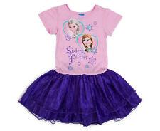 Disney Frozen Girls' Princess Dress - Pink/Purple