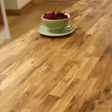 Solid Oak Timber Worktops - Wood Worktop, Rustic Farmhouse Kitchen, 40mm Thick