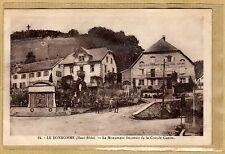 Cpa Alsace le Bonhomme - le monument souvenir de la Grande Guerre tp0115