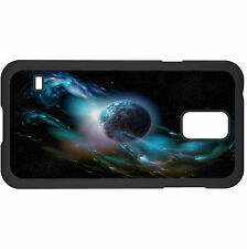 Planet Surrounded By Stardust Hard Case Cover For Samsung New