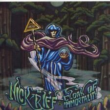 Nick Riff Cloak of Immortality LP 10 Track Item UK Delerium 1995