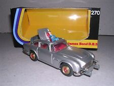 CORGI 270 JAMES BOND ASTON MARTIN DB5 - EARLY RED DOT WHIZZWHEELS & BOX - RARE!