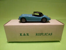 K & R REPLICAS 1:43 MGA 1600 MK2  1962  - IN ORIGINAL BOX  - GOOD CONDITION