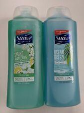 2 Suave Essentials 28oz Limited Edit Spring Awakening Citrus & Ocean Body Wash
