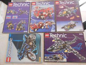"""LEGO TECHNIC """"lot de notice 8082/8280/8456/84258430"""""""