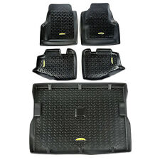 Floor Mat Liners Kit  Black Jeep Wrangler TJ  1997-2006 391298810 Outland
