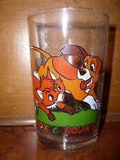 Vetro con Senape Rox e The Fox And The Hound (i Fox e i Hound) N°2 Disney