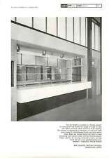 1964 Bar Fitment For Factory Canteen Hoddesdon Hertfordshire Edward Mills