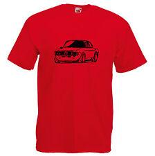 Alfa Romeo T shirt Bertone GTV race GT retro gift Dad car giulia sprint 105 tee