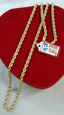GoldNMore: 18K Gold  Necklace Chain  7.55G 20 inches