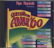 Quei favolosi anni '60 1967 vol.4 - ANTOINE LE PECORE NERE TENCO NOMADI  - CD