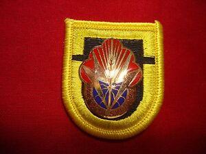 US 100th SUPPLY & SERVICE Battalion Unit Crest DUI On Beret Patch Flash