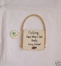 Fishing-Thats What I Call Really Going Online Refrigerator Magnet Fast Free Ship
