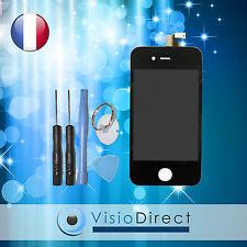 ECRAN LCD RETINA POUR IPHONE 4S NOIR VITRE TACTILE + LCD SUR CHASSIS