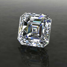 Asscher Moissanite Charles Colvard 9mm 9 mm Colorless Brilliant Loose Stone