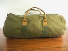 Vintage Gokey Canvas Duffle Gym Carry On Weekender Overnight Hunting Travel Bag