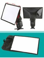 15x17cm Flash Speedlite Universal Mini Portable Softbox Diffuser for Canon Nikon