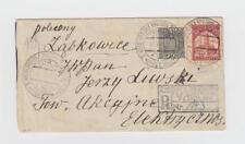Poland:  Torun Exhibition: 1933 cover, sp. cxl + good franking