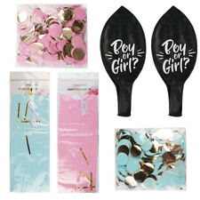 Oh Baby! Gender Reveal Pop Confetti Balloon Kit Baby Shower Party Decor Favors