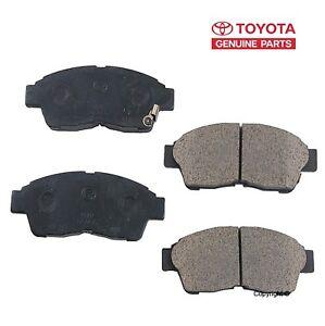 For Geo Prizm Toyota Celica Camry Corolla RAV4 Front Disc Brake Pad Genuine