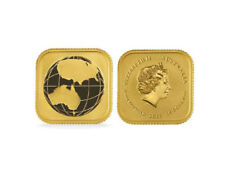 2017 1/10oz Australian Gold Global Economy (Square Map) BU .9999