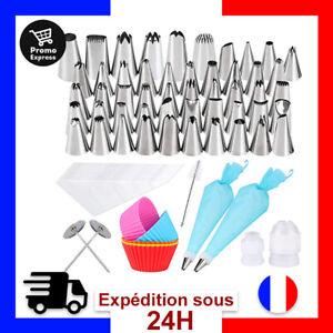 Gyvazla Douilles Poche 72 Pièces en Acier Inoxydable DIY Kits 50 Douilles 10 ...