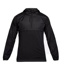 NWT Under Armour Wind Anorak - Men's Black XL/TG/EG MSRP $60.