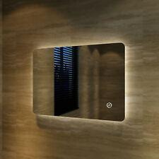 Badspiegel Badezimmerspiegel LED Lampe Spiegel Wandspiegel Kaltweiß Ip44 Star 100x60cm