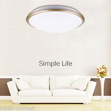 Round LED Ceiling 30W  Light Flush Mount Fixture Lamp For Living Room Bedroom WT