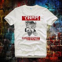 The Cramps Stay Sick Rock Retro Super CooL Vintage Unisex& Ladies T Shirt 454b