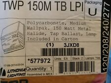 Lithonia Lighting TWP 150M TB LPI Metal Halide Wall Pack, Bronze