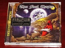 Thee Final chaptre: It Is Written - EDITION DELUXE CD 2016 CHANSONS Extras USA