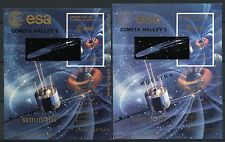 Space Raumfahrt 1977 Equatorial Guinea Halley`s Comet Komet Block 277 MNH 1347