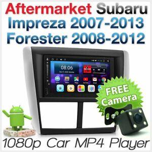 Android Car MP3 Player For Subaru Impreza G3 GPS Stereo Radio Head Unit Fascia A