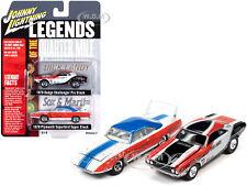 1970 Dodge & 1970 Plymouth Quarter Mile Set 1/64 Johnny Lightning Jlpk011-Lotqm