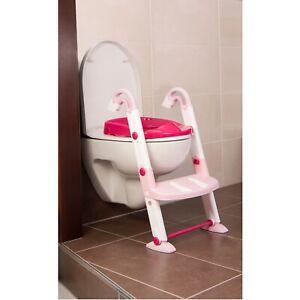 Rotho Kids Kit Toilettentrainer 3in1 tender rose - weiß - pink