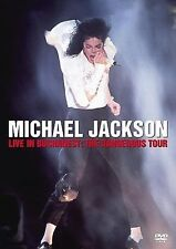 Michael Jackson - Live Concert in Bucharest: The Dangerous Tour (DVD, 2005)